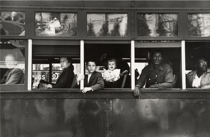 Robert Frank © Trolley-New-Orleans 1955