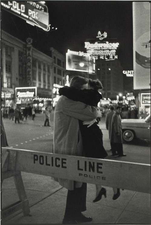Henri Cartier-Bresson, New Year's Eve, Times Square, New York City, 1959