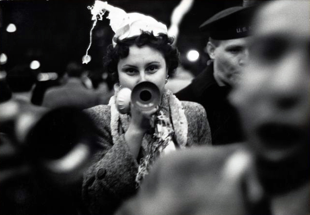 Dan Weiner (1919 –1959)New Year's Eve, Times Square 1951