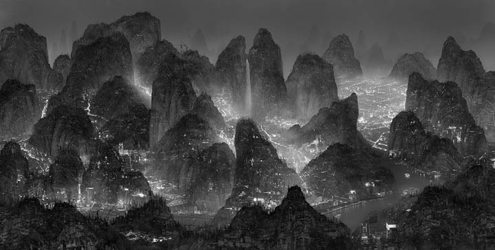 Yang Yongliang © 2012The moonlight