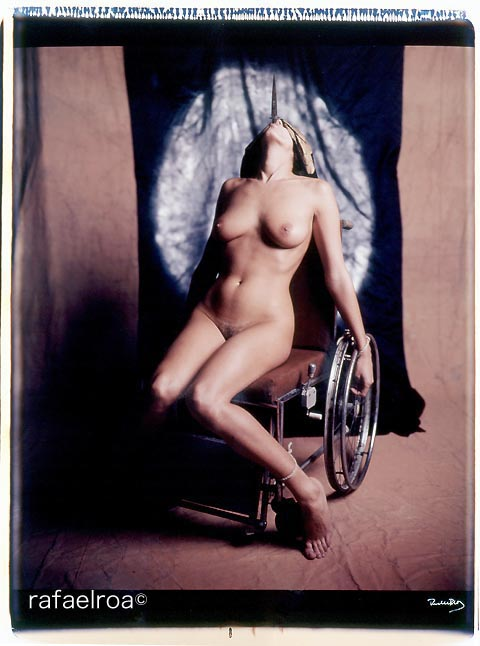 "Rafael Roa © 1996No way out - Polaroid 20x24"" - 50x60cm"