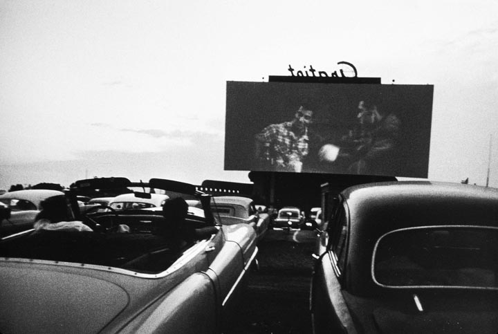 Robert Frank © 1955Drive in Movie, Detroit