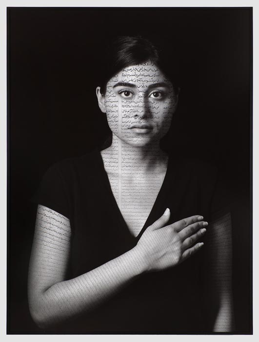 SHIRIN NESHAT © Nida (Patriots), from The Book of Kings series, 2012