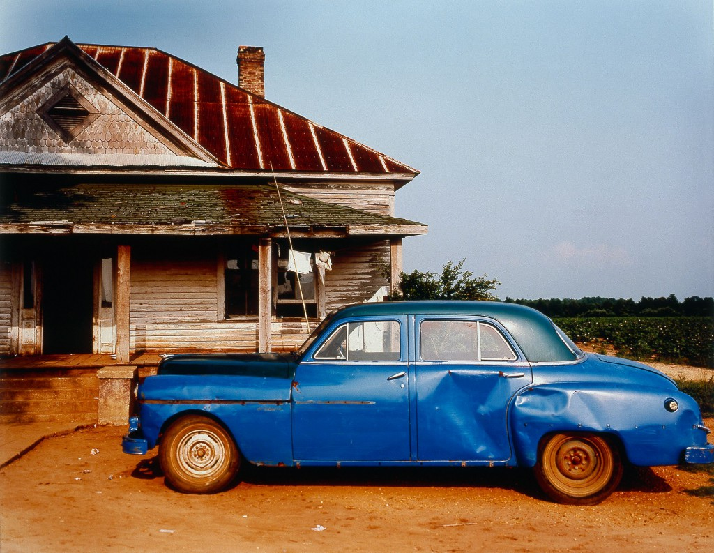 William Christenberry © House and car