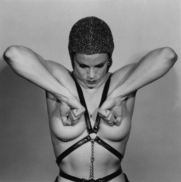 "Robert Mapplethorpe, ""Lisa Lyon"", 1981  silver gelatin print  41x51 cm © Robert Mapplethorpe Foundation. Used by permission. Courtesy of Galerie Stefan Roepke, Cologne."
