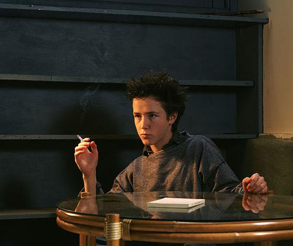 Jeff Wall © The Smoker, 1986