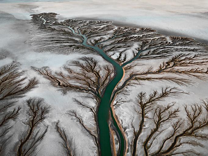 Edward Burtynsky © Colorado River Delta #2Near San Felipe, Baja, Mexico, 2011