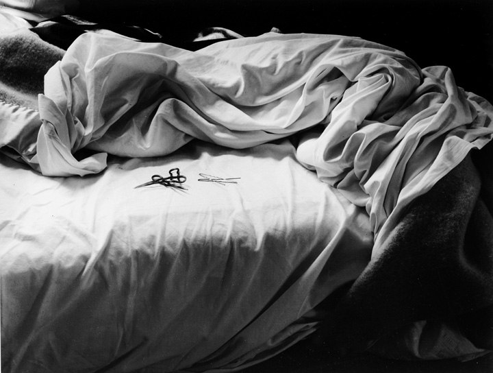 Imogen Cunningham © The Unmade Bed, 1957