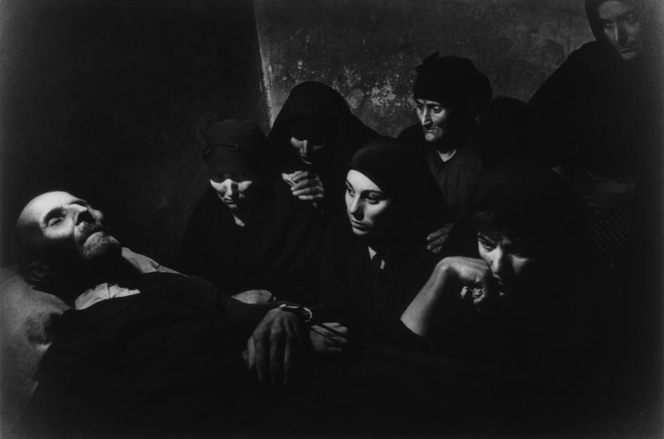 """Eugene Smith © Magnum 1951 SPAIN. Village of Deleitosa in Western Spain. 1951. - SPAIN. Extremadura. Province of Caceres. Deleitosa. 1951. Wake of Juan Carra Trujillo. From """"Spanish Village"""" photo-essay. - W-Eugene--Smith SPAIN. Extremadura. Province of Caceres. Deleitosa. 1951. Wake of Juan Carra Trujillo. From """"Spanish Village"""" photo-essay."""