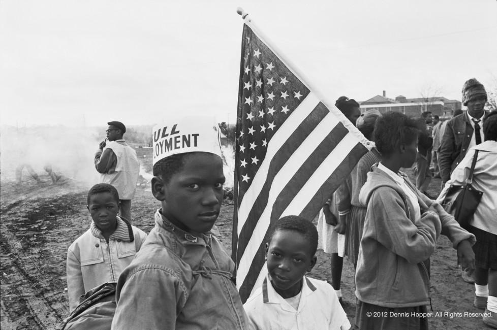 Dennis Hopper © 1965 Selma, Alabama. Full employement