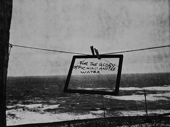 Robert Frank © 1976 For the glory of the wind and the water