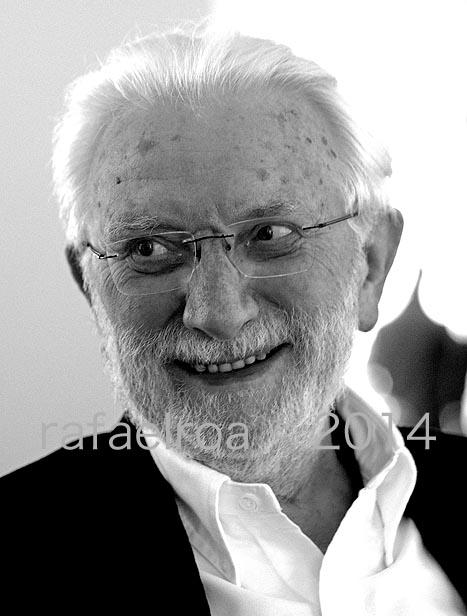 """Rafael Roa © Lucien Clergue hoy en Las Ventas inaugurando su exposición """"60 Años En Las Plazas Toros"""""""