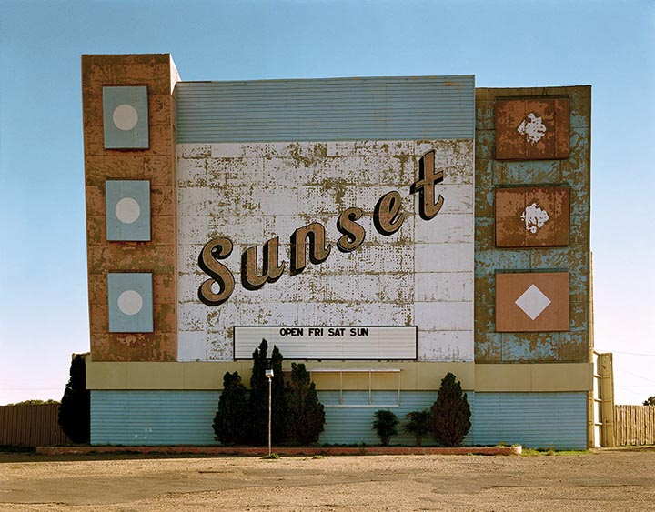 Stephen Shore © 1972 Amarillo, Texas