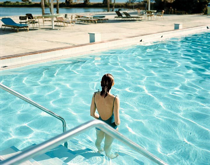 Stephen Shore © 1977 Ginger Shore, Tampa, Florida
