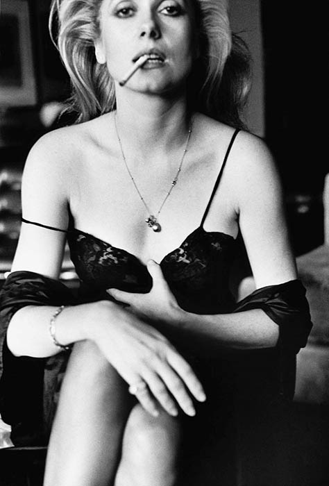 Helmut Newton Foundation © 1976 Catherine Deneuve