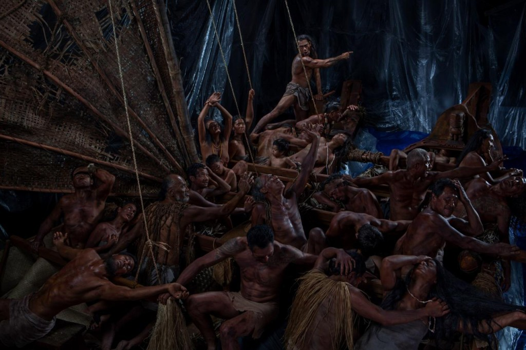 Greg Semu © The Raft of the Tagata Pasifika (People of the Pacific), 2014–16