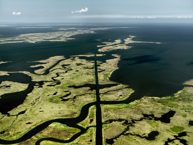 Edward Burtynsky © Oil Spill #15Submerged Pipeline, Gulf of Mexico, June 24, 2010