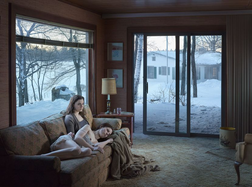 © Gregory Crewdson. Courtesy of Gagosian Gallery, Cathedral of The Pines